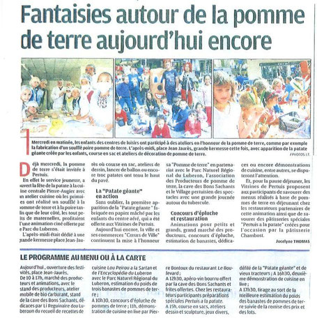 La Provence 21 septembre 2013
