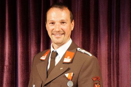 OBM Martin Jaufenthaler, ehemaliger Zugskommandant 1. Zug