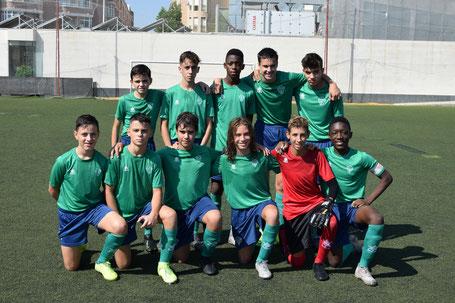 Plantilla Infantil A C.D. Pablo Iglesias. 1º Jornada de la Temporada 2019-2020 / Polideportivo Carrús (Elche)