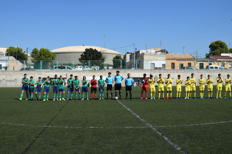 Club Deportivo Pablo Iglesias 0 - 2 Villarreal C.F. Carrús (Elche) - 2019