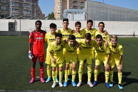 Plantilla Infantil A Villarreal C.F. 1ª Jornada de la Temporada 2019-2020 / Polideportivo Carrús (Elche) Jornada 1.