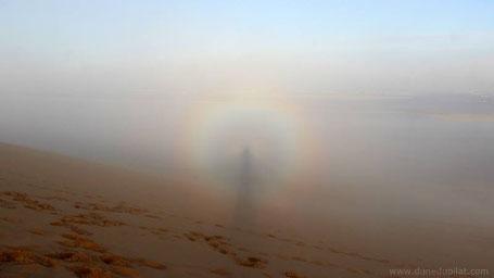 Dune du Pilat / Brocken spectre