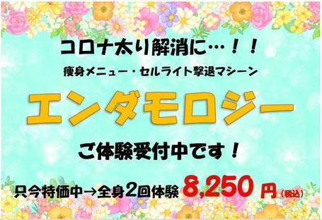 痛くない脱毛サロンDione吉祥寺店 エンダモロジー全身2回体験:8,250円(税込)