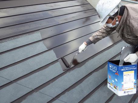 屋根サビ止め塗装