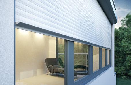 Fensterbau, Fenster aus Aluminium