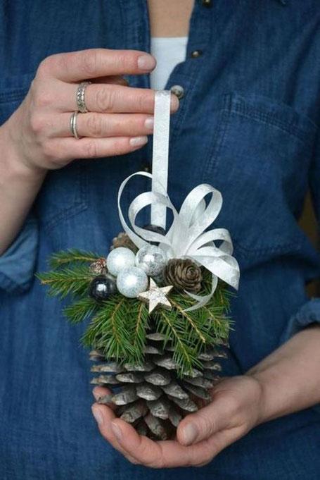 10 plus pine cone crafty diy ideas