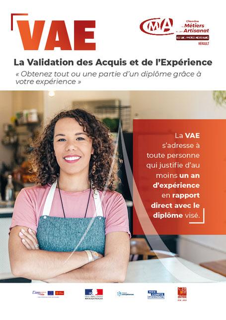 conseil de la formation CMA34 Hérault Montpellier Occitanie VAE formation acquis expérience professionnel