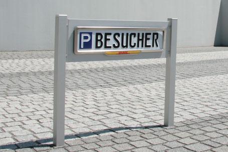 Fuhrparkplätze und Parkplatzschilder von ParkSign