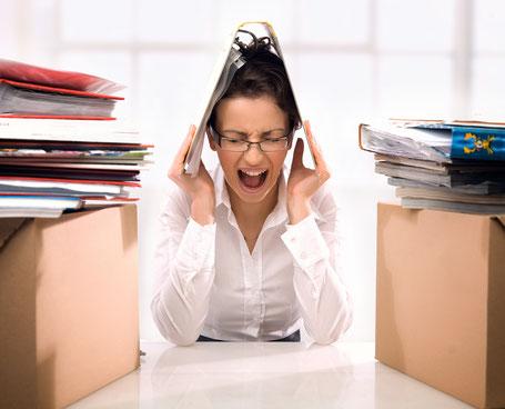 Kurzfristige körperliche Stress-Symptome sind normal.