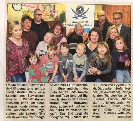 Wilhelmshavener Zeitung vom 16.12.107