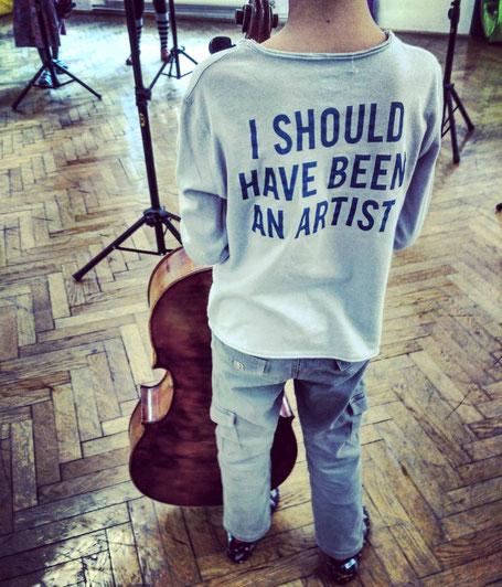 I should have been an artist, ecole de musique, Wien