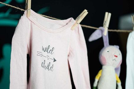 Babyshower Party Bielefeld Siebdruck Babysachen selber gestalten Sieb und Seele Sieb & Seele