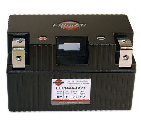 Shorai Power Lithium Iron Phosphate Battery
