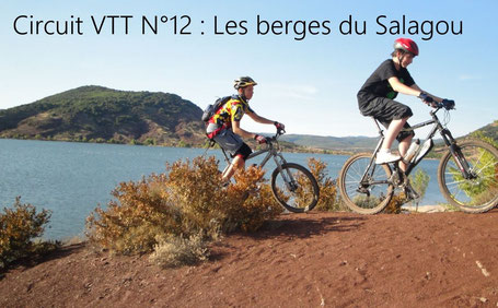 Circuit VTT les berges du lac du Salagou VTT électrique Hérault