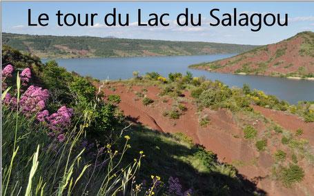 Vélo électrique Montpellier tour du Lac du Salagou Hérault Occitanie Location parcours