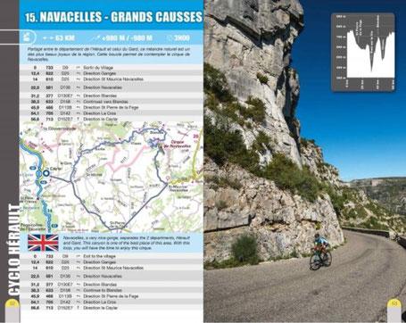 Vtopo guide circuits vélo dans l'Hérault cyclotourisme et cyclosportive
