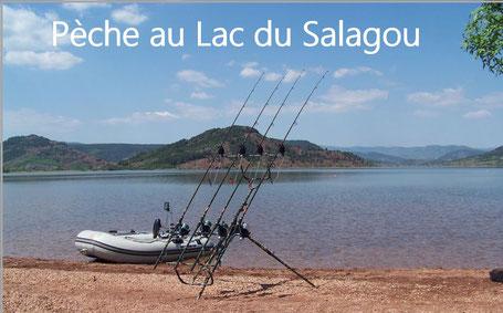 Pécher au Lac du Salagou Carte de Pèche Hérault