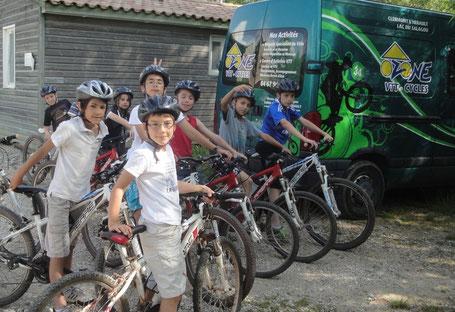 projet vélo à l'école hérault