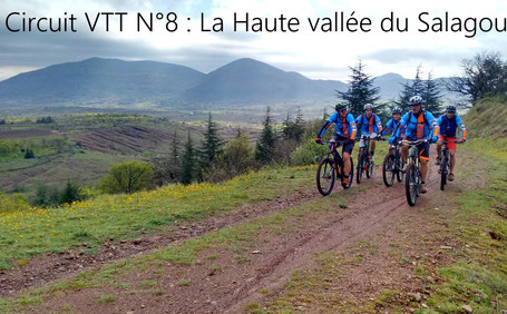 Circuit VTT lac du Salagou , Circuit VTT Larzac, Circuit vélo de route Hérault