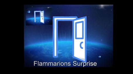Dieses Bild zeigt offene Türen in den Weltraum. Es hat das Thema Parallelwelten oder Multiversum zum Inhalt.