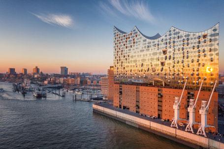 HFoto: Elbphilharmonie, HafenCity   HCH Der HafenCity-Makler GmbH, Hamburg   Luxusimmobilien in der Hamburger HafenCity, an Elbe, Alster & weiteren Hamburger Toplagen