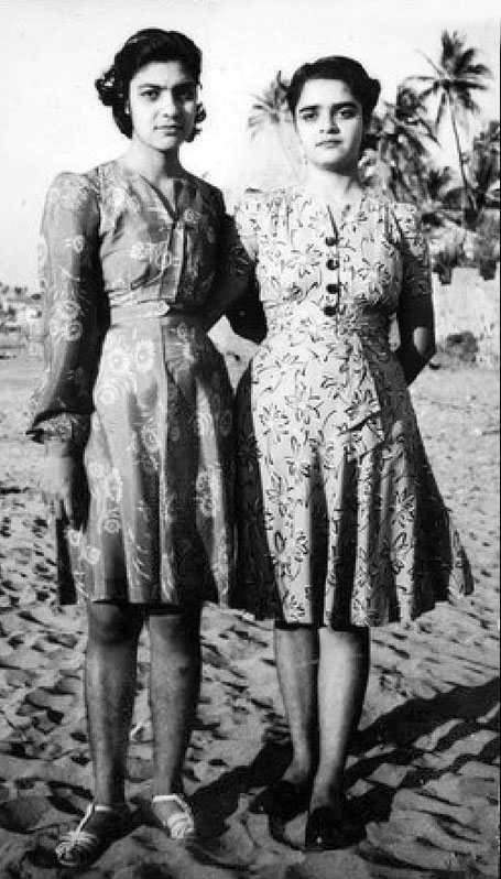Pervis & her sister Jeroo . Image courtesy of MN Publications