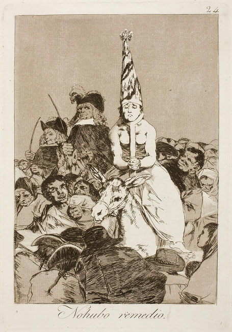 "Francisco De Goya, ""Non ci fu rimedio"" (1799)"