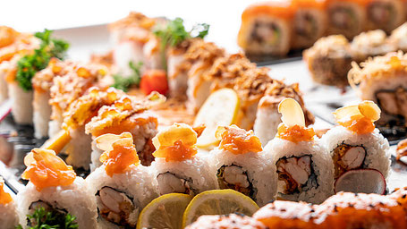 Sushi und Maki