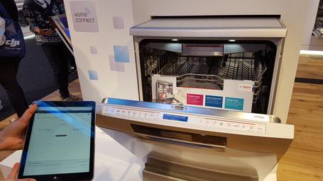 Bosch Lave-vaisselle connecté