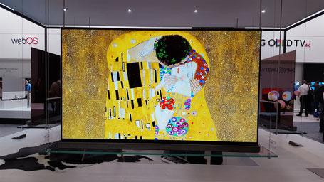 Le Baiser de Gustav Klimt, Malou