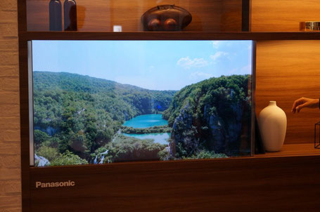 Panasonic Ecran transparent (Source :Journal du geek)