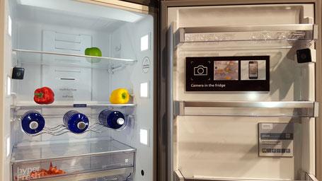 FridgeCam Siemens Caméra connectée pour réfrigérateur