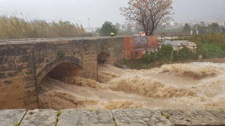 Foto van de gemeente van het slechte weer in Javea
