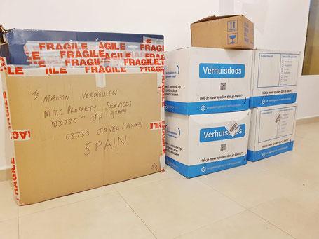 Pakketten bezorgen met MMC Property Services