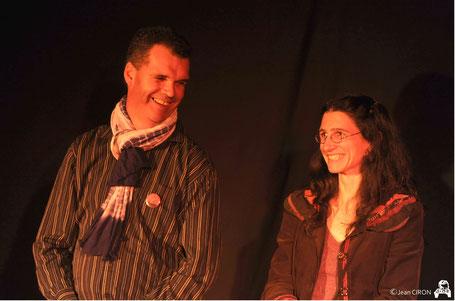 conteurs sur scène