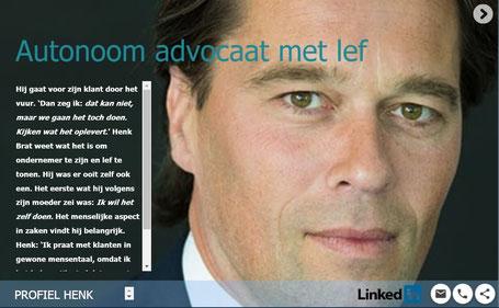 personal branding Henk Brat storytelling