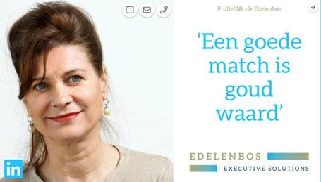 personal branding Nicole Edelenbos storytelling