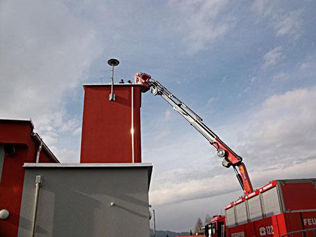 Sirene FS 4 D  bei der Montag am neuen Rüsthaus