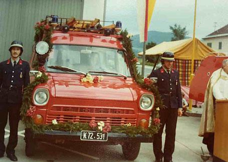 Segnung Ford FT Feuerwehr Pischeldorf 1975