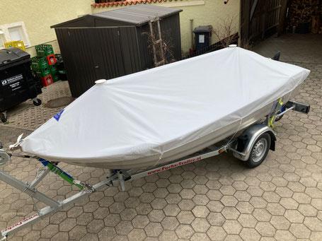 Ruderboot Zeltpersenning