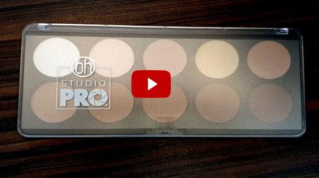 Joel Time: Studio Pro Highlighter und Contouring Palette