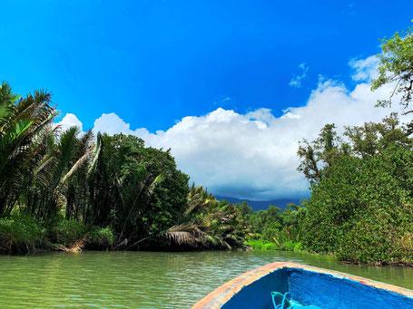 Salawai rivier bij Sawai op de Molukken
