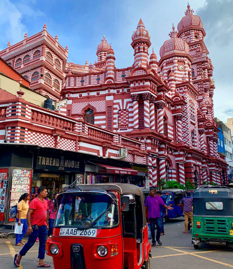 De bruisende hoofdstad Colombo