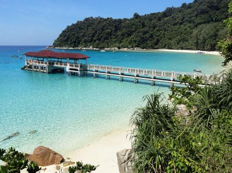 Khoo Kongsi clanhouse op het eiland Penang in West-Maleisie
