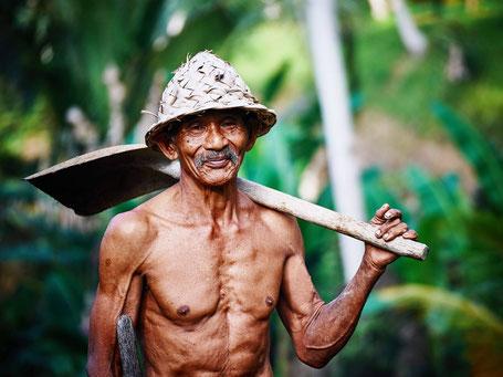 Lokale bevolking van Maleisisch Borneo