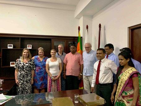 Afspraak met de minister van toerisme