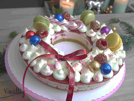 einfache und schicke Torte zu Weihnachten