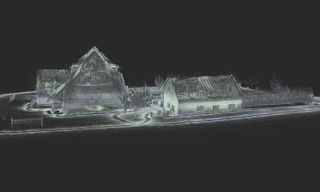 storz.architektur dotscene Laserscanning Freiburg Schwarzwald Holzbau