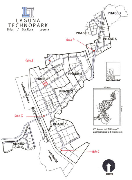 Map of LTI