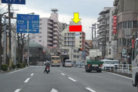 環状1号線 洪福寺交差点・遠景